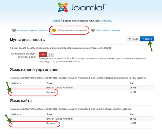 перенос сайта joomla денвера на хостинг